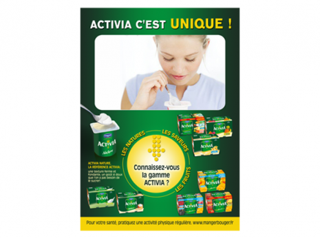 Annonce Activia