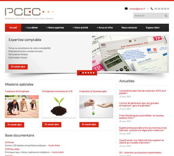 PCEC accueil