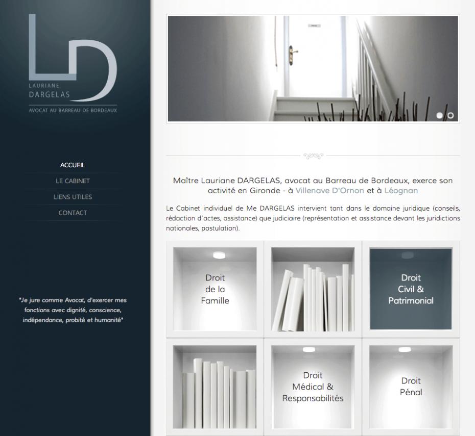 Site Lauriane Dargelas