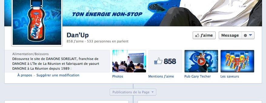 Page Facebook Danup